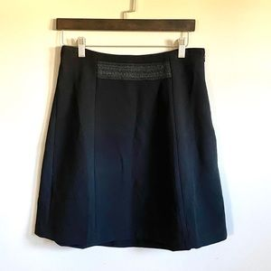 Tahari Black Mini Skirt size 6